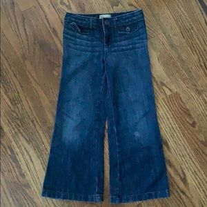 GAP 5T trouser jeans, great with clogs!
